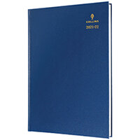 Collins Academic Diary Day Per Page A5 Blue 2021-22 52MBLU