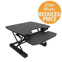 [Demo Model] Contour Ergonomics Sit-Standing Desk Black CE04633