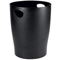Contour Ergonomics Waste Paper Bin Black CE06113