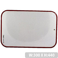Bic Velleda Dry Wipe Board 300x440mm Red 230 812105