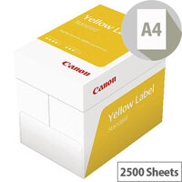 Canon Yellow Label Standard Paper A4 80gsm White Box of 2500 Sheets