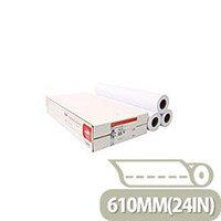 Canon 610mmx50m Uncoated Standard Inkjet Plotter Paper (3 Pack) Ref 97003452