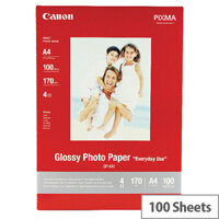 Canon A4 Glossy Photo Paper 200gsm (Pack of 100)