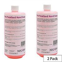 Maxima Refill Pink Hand Wash Soap 1Litre Pack 2