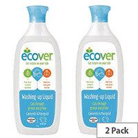Ecover Washing Up Liquid 450ml Pack of 2 VEVWUL