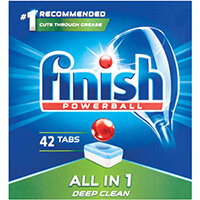 Finish All-In-One Dishwasher Tablets Regular Pack of 42 C001437