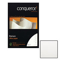 Conqueror Wove Smooth Texture Brilliant White Premium Paper A4 100gsm 500 Sheets