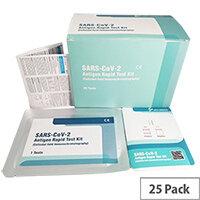 SARS-CoV-2 Antigen Rapid Nasal Test Kit Pack of 25