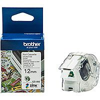 Brother CZ1002 Full colour Continuous Paper Tape 12mm wide