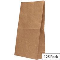 Paper Bag Brown W360 x D260 x H520mm 12.7kg (Pack of 125) 302172