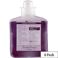 DEB Calming Foaming Hand Soap Cedar Wood & Patchouli Refill Cartridges 1 Litre (Pack of 6) ACF1000ML