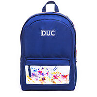 DUC BB Waterflower Large School Bag Navy 32L