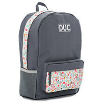 Camouflage-Print Bouquet Pocket Drawstring School Backpack Storage Accessory BT