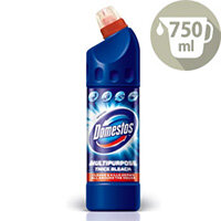 Domestos Original Freshener Disinfectant Professional Thick Bleach 750ml Pack 1