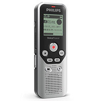 Philips DVT1250 Voice Tracer for Notes 8GB - Large LCD, Micro SD Slot, PC Connection