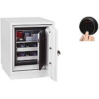 Phoenix Datacare DS2003F Size 3 Data Safe with Fingerprint Lock White 80L 120min Fire Protection