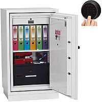 Phoenix Datacombi DS2503F Size 3 Data Safe with Fingerprint Lock White 145L 120min Fire Protection