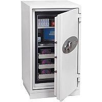 Phoenix Data Commander DS4621E Size 1 Data Safe with Electronic Lock White 143L 120min Fire Protection