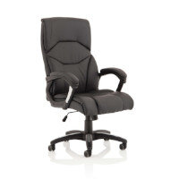 Detroit Executive Office Chair - PU Leather - Black - Weight Tolerance: 120kg