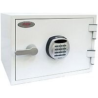 Phoenix Titan FS1281E Size 1 Fire & Security Safe with Electronic Lock White 19L 60mins Fire Protection