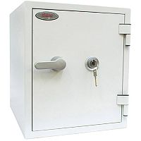 Phoenix Titan FS1282K Size 2 Fire & Security Safe with Key Lock White 25L 60mins Fire Protection