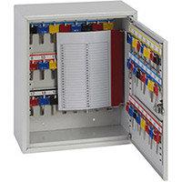 Phoenix Keysure KC0301E 50 Hook Deep Key Cabinet with Electronic Code Lock Light Grey