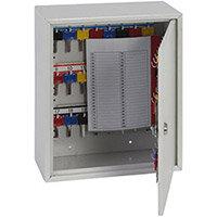 Phoenix Keysure KC0301K 50 Hook Deep Key Cabinet with Key Lock Light Grey