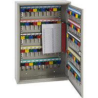 Phoenix Keysure KC0302M 100 Hook Deep Key Cabinet with Mechanical Combination Lock Light Grey