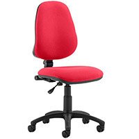 Eclipse I Lever Task Operator Office Chair Cherry Red