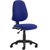 Eclipse I Lever Task Operator Office Chair Serene Blue