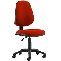 Eclipse I Lever Task Operator Office Chair Pimento Rustic Orange