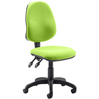 Eclipse II Lever Task Operator Office Chair Swizzle Green