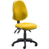 Eclipse III Lever Task Operator Office Chair Sunset Yellow