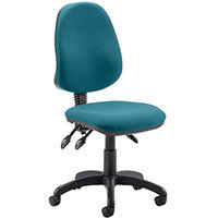 Eclipse III Lever Task Operator Office Chair Kingfisher Green