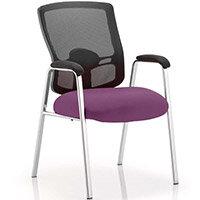 Portland Boardroom & Visitor Chair Purple