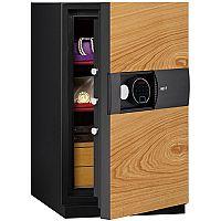Phoenix Next LS7003FO Luxury Safe Size 3 Oak with Fingerprint Lock Oak 82L 60min Fire Protection