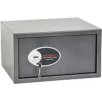 Phoenix Vela Home & Office SS0803K Size 3 Security Safe with Key Lock Metalic Graphite 34L