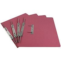Rexel Pink Jiffex Foolscap Transfer File Pack of 50