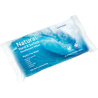 Ecotech Plastic-Free Disinfectant Wipes 40 Sheets Pack of 16 ECO24336
