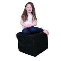 Elephant Cube Chair 450x450x400mm Urban Black