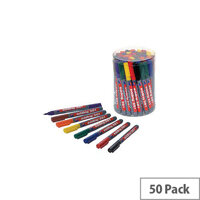 Edding 361 Drywipe Assorted Markers (Pack 50) CP 43