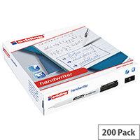 Edding Handwriter Pen Black Class Pack of 200 300462000