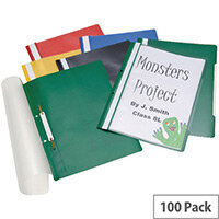 Classmaster Project Files Assorted Pack of 100 PFA100