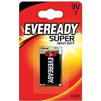 Eveready Battery Silver 9V Pack 1 6F22BIUP