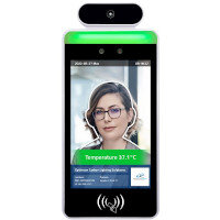 """8"""" Facial Recognition Thermometer Display with Wall Mount FR8A-W"""