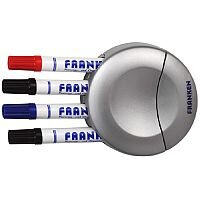 Franken Combined Board Wiper and Pen Holder Magnetic