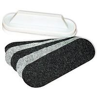 Franken Self Adhesive Felt Pads For Board Cleaning Wiper 5 Sheets Z1934