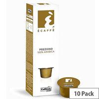 Prezioso Ecaffe Caffitaly Coffee Pods Sleeve of 10 Capsules