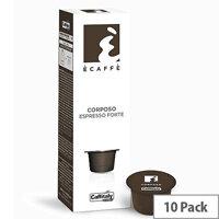 Corposo Ecaffe Caffitaly Coffee Pods Sleeve of 10 Capsules