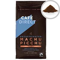 Cafedirect Fairtrade Organic Roast Ground Decaffeinated Coffee 227g Pack 1 TWI12028